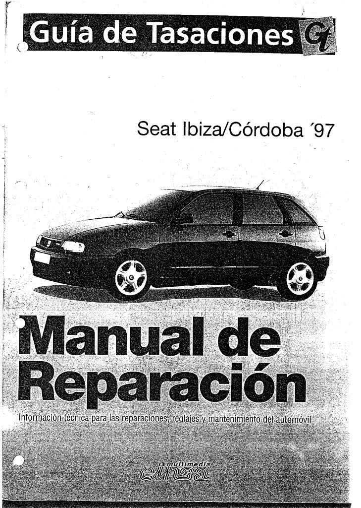 1997 Ibiza Cordoba Service Manual Espanol Pdf  94 2 Mb
